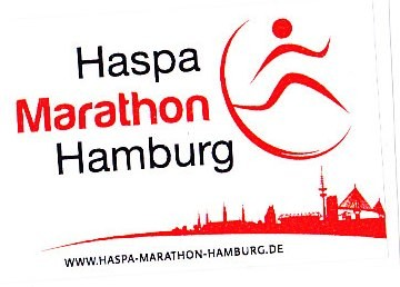 Hamburg Marathon 2013 - Aufkleber