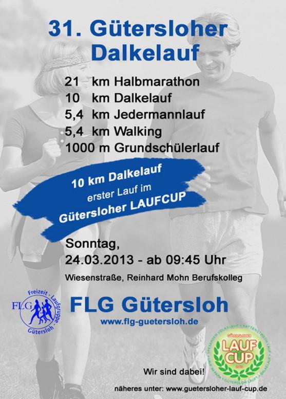 Dalkelauf GT 2013 - Flyer