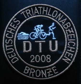 DTU - DeutscheTriathlon Union - Abzeichen 2008