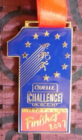 Challenge Roth 2007 - Medaille