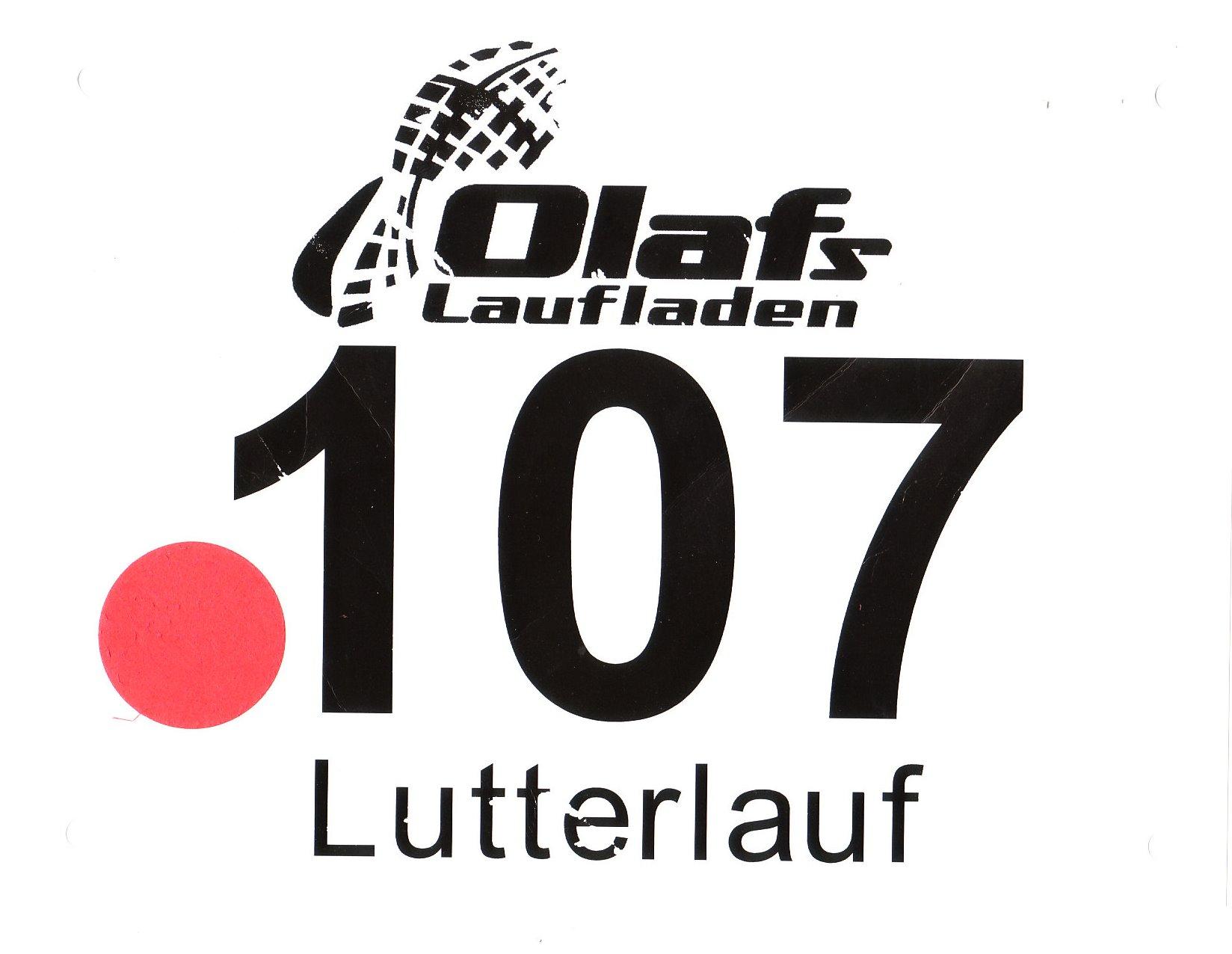 Lutterlauf Marienfeld 2017 - Startnummer