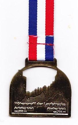 Hermannslauf 2013 - Medaille (back)