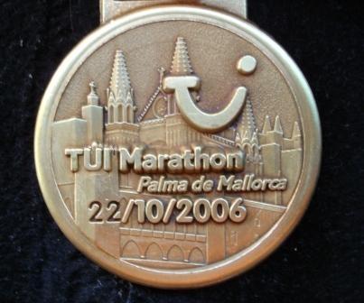 Mallorca Marathon 2006 - Medaille
