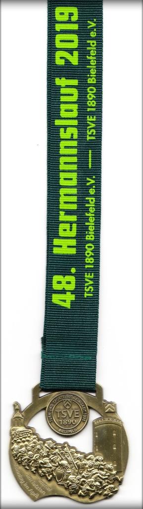 Hermannslauf 2019 - Medaille
