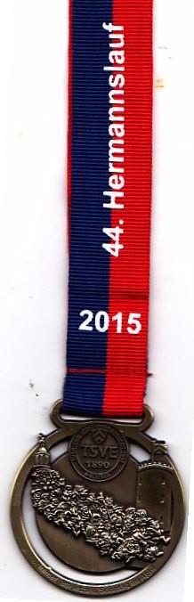 Hermannslauf 2015 - Medaille