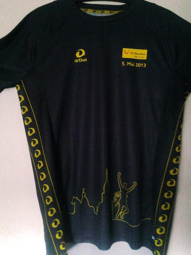 Hannover Marathon 2013 - Finisher Shirt