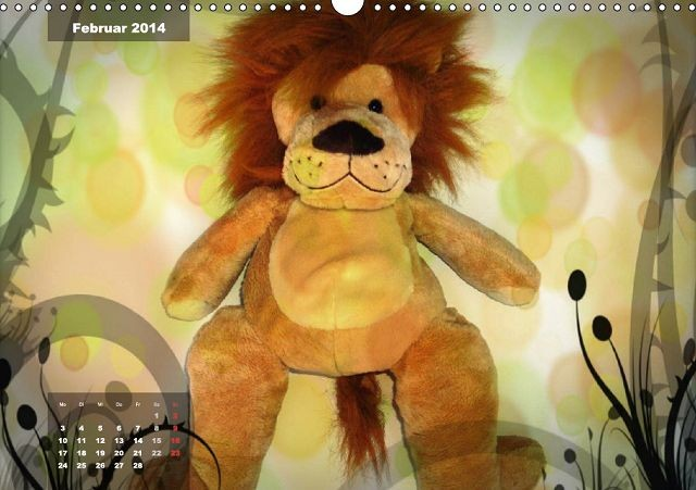 Zauberhafte Kuscheltiere - Lion Löwenherz