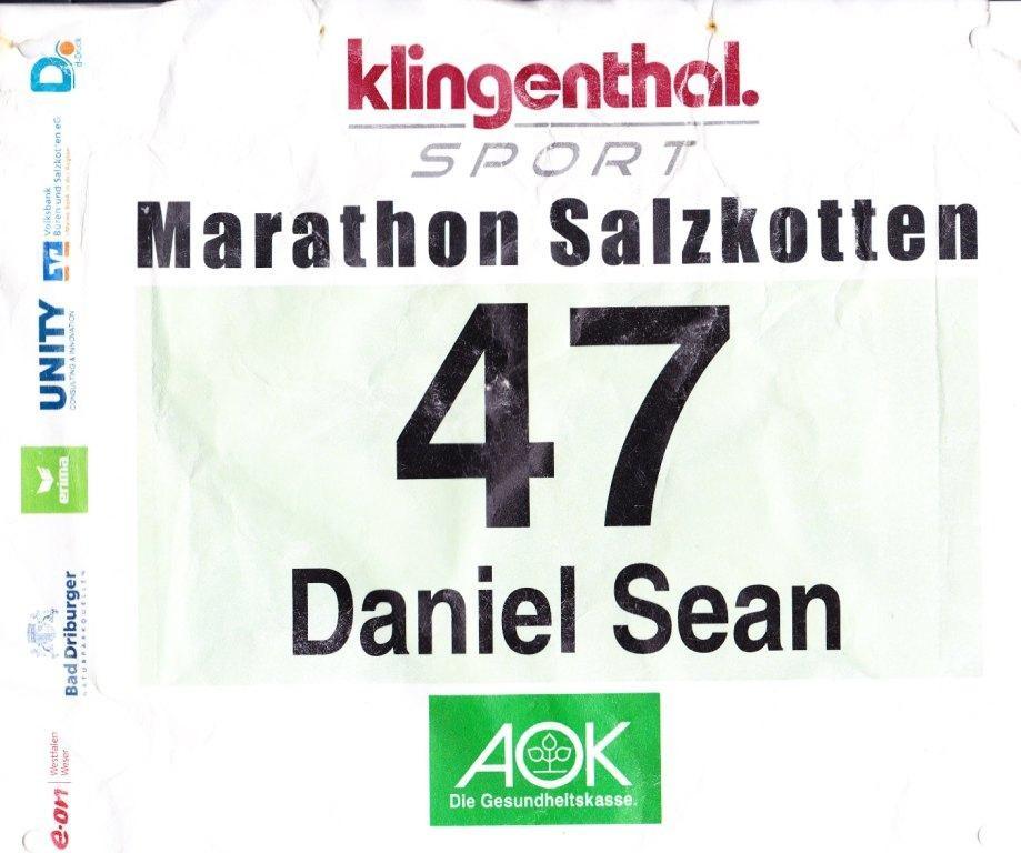 Marathon Salzkotten 2012 - Startnummer 47