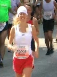 Ricarda - Hamburg Marathon 2011