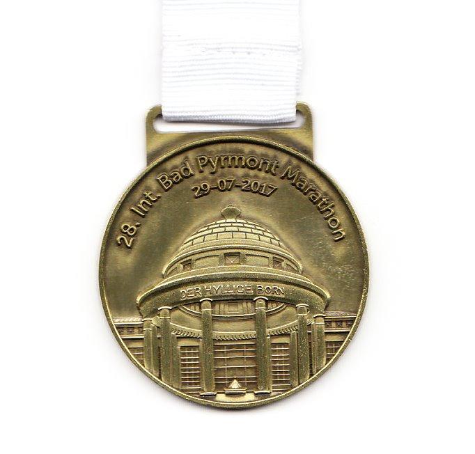Bad Pyrmont Marathon 2017  - Medaille