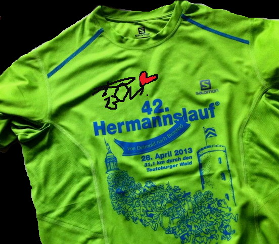 Hamburg Marathon 2013 - Finisher Shirt