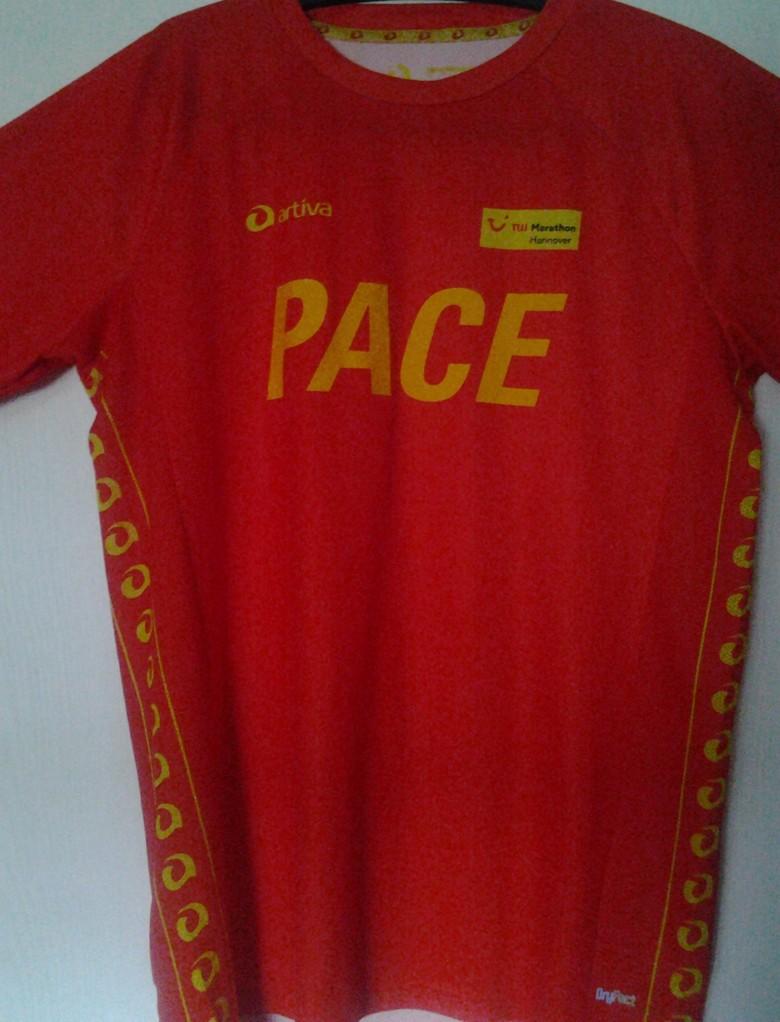 Hannover Marathon 2013 - Pacemaker Shirt