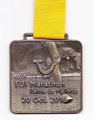 Mallorca Marathon 2013 - Medaille