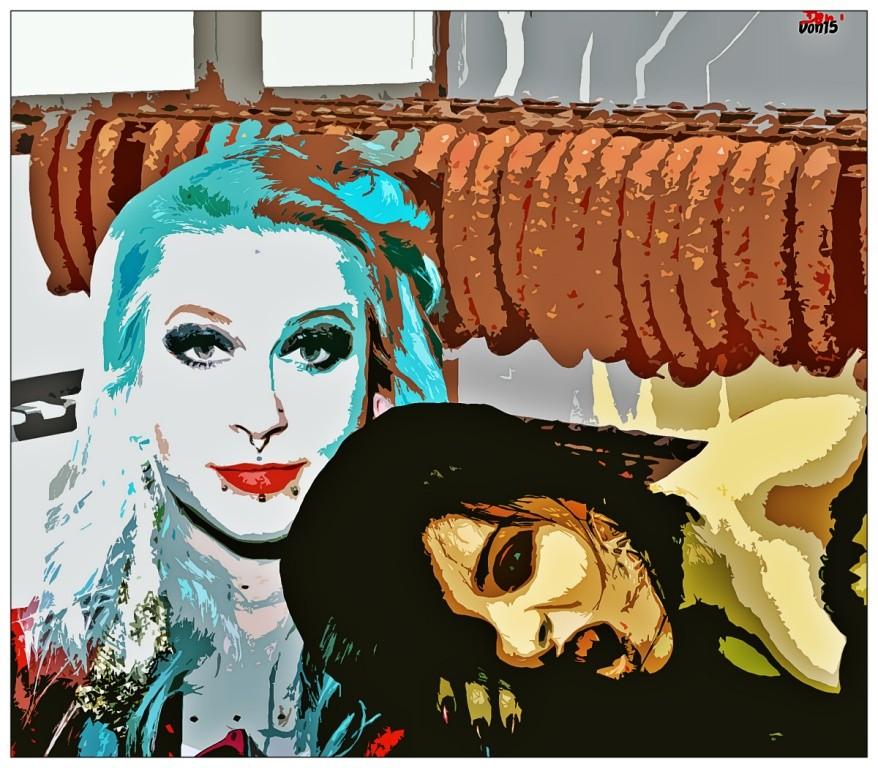 Veggieday (Fleischereifachverkäuferin wird vom Vampir gebissen und wird zur Vegetarierin) by Don15