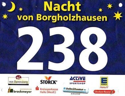 Nacht von Borgholzhausen 2014 - Startnummer