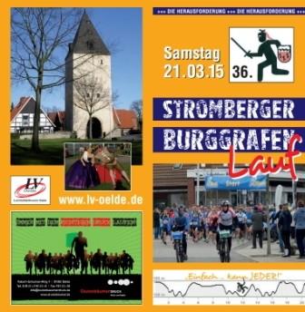 Stromberg Burggrafenlauf 2015 - Flyer