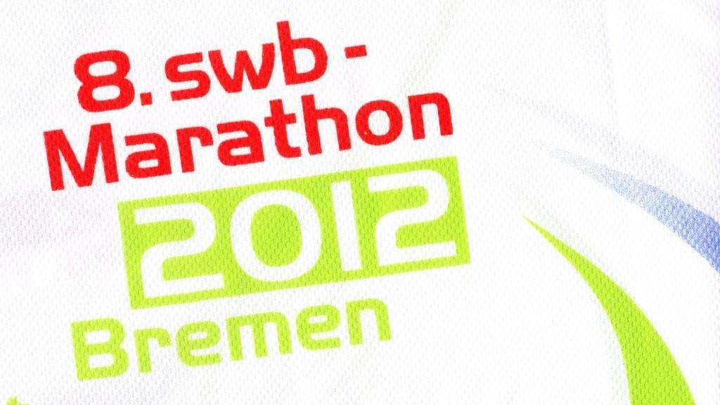 Bremen Marathon 2012 - Offizielles Finsher-Shirt