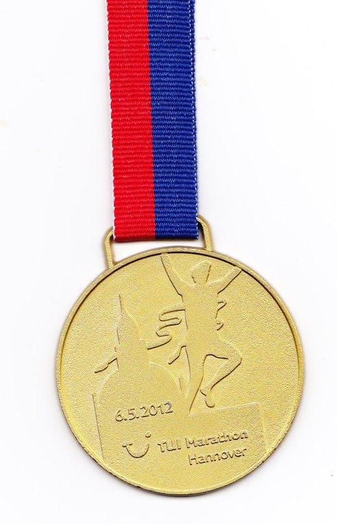 Hannover Marathon 2012 - Medaille