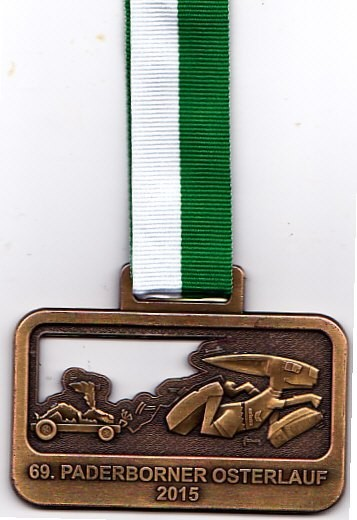 Osterlauf Paderborn 2015 - Medaille