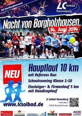 Nacht von Borgholzhausen 2014 - Flyer