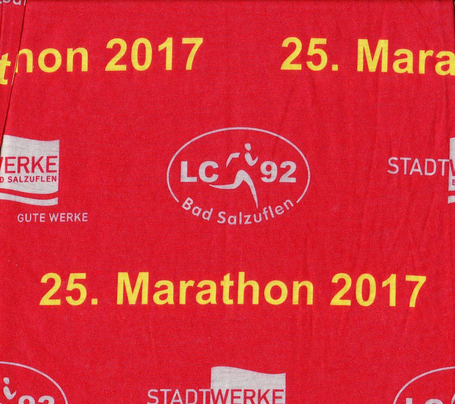Bad Salzuflen (Block-)Marathon 2017 - Accessoires (Bandana/Headband)