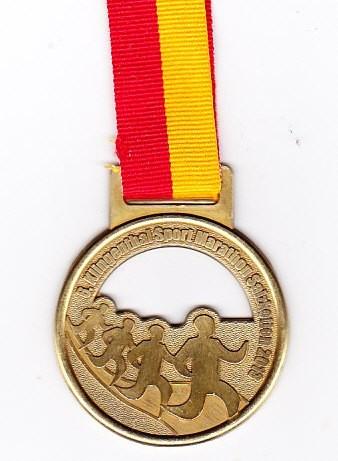 Salzkotten (Halb-) Marathon 2013 - Medaille