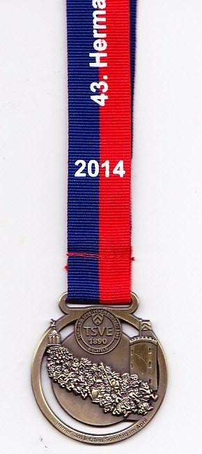 Hermannslauf 2014 - Medaille