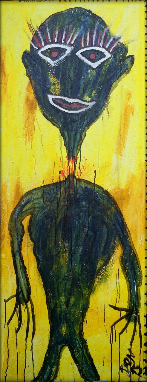 Transplantation - Acryl auf Holz - 63 x 169 cm - by Don15