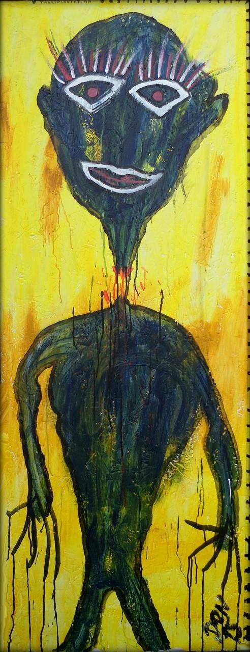 Transplantation - Acryl auf Holz - 63 x 169 cm - by Don15