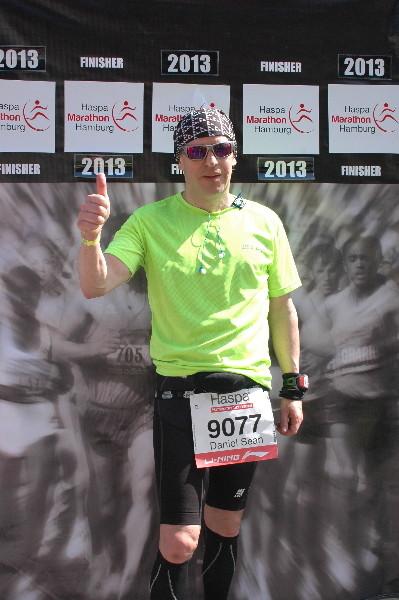 Hamburg Marathon 2013 - Daniel Sean Kaiser