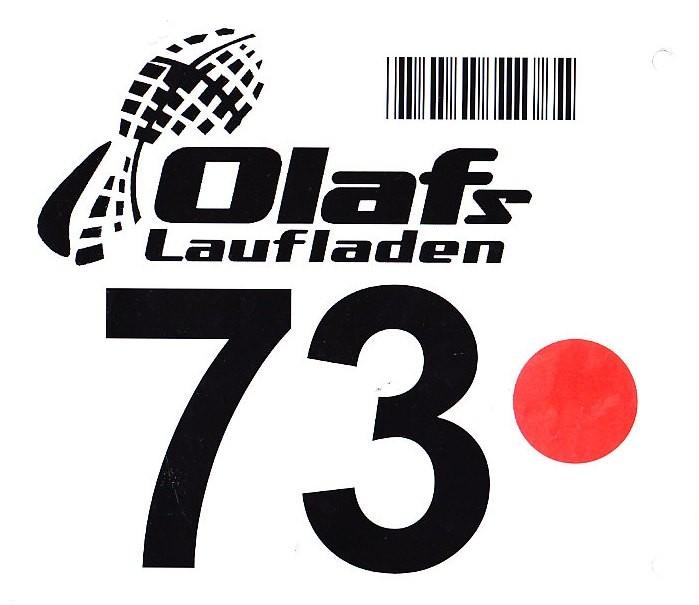 Lutterlauf Marienfeld 2013 - Startnummer