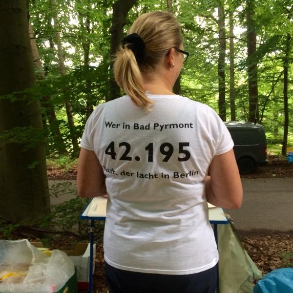 Bad Pyrmont Marathon - Helfer/innen Shirt (42,195 KM)