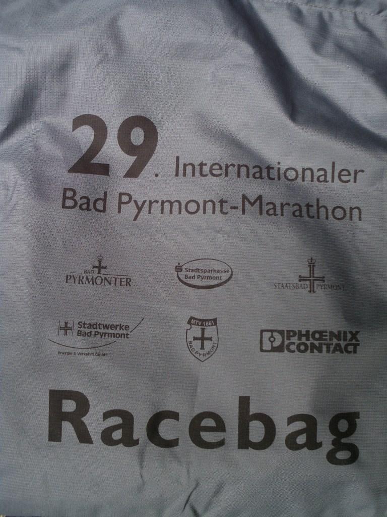 Bad Pyrmont Marathon 2018 - Racebag