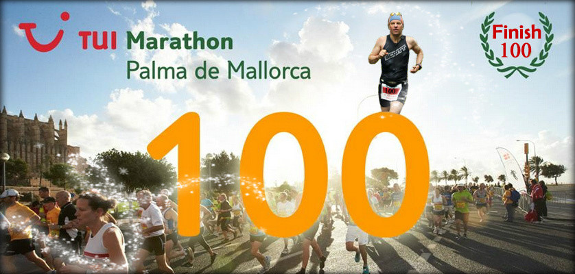 Mallorca Marathon 2013 - Finish 100 in Folge in 85 Monaten