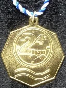 24 h Swim - Medaille