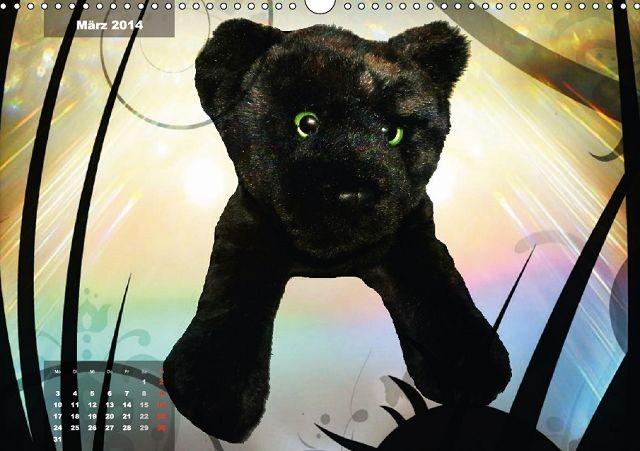 Zauberhafte Kuscheltiere - Paulino Panther