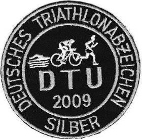 DTU - DeutscheTriathlon Union - Abzeichen 2009