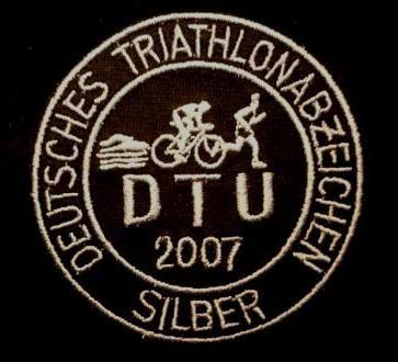 DTU - DeutscheTriathlon Union - Abzeichen 2007