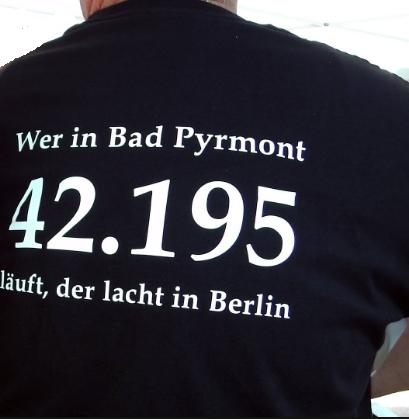 Bad Pyrmont Marathon 2017 - T-Shirt