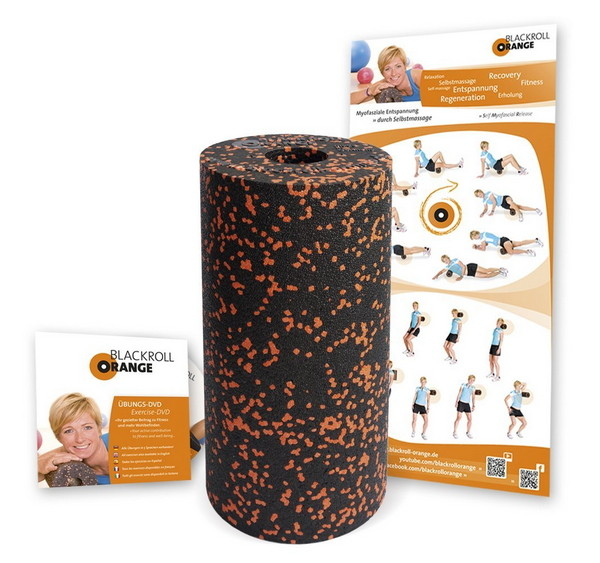 Blackroll Orange / Massagerolle / Accessoires / Equipment