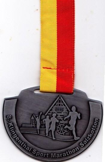 Salzkotten Marathon 2015 - Medaille