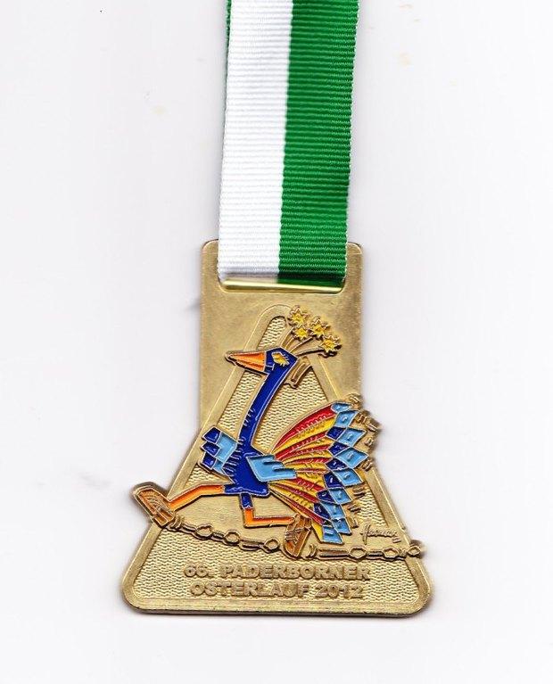 Paderborn Osterlauf 2012 - Medaille