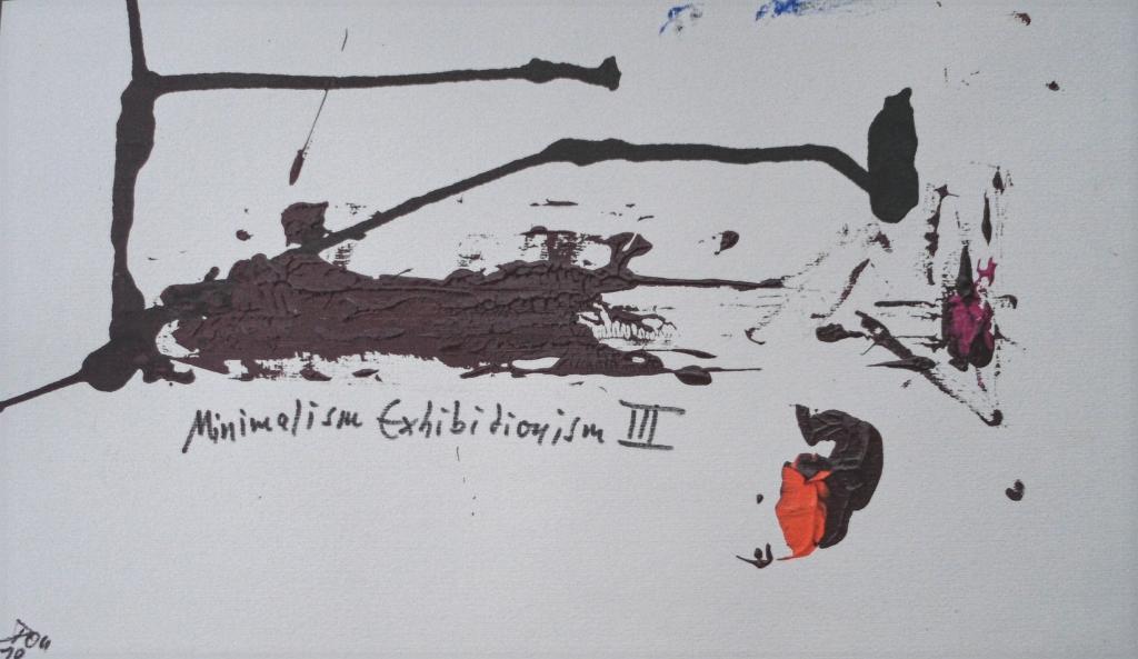 Minimalism Exhibitionism III | Y2018