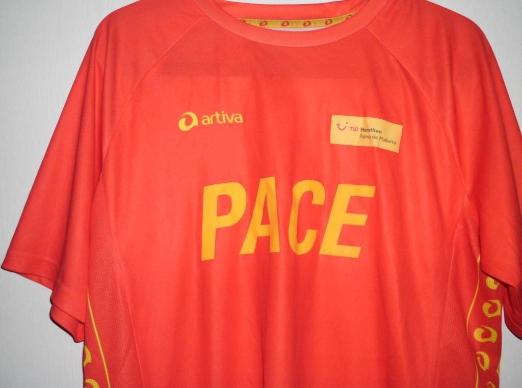 Mallorca Marathon 2013 - Pacemaker Shirt