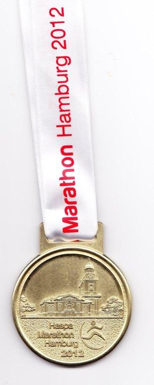Hamburg Marathon 2012 - Medaille