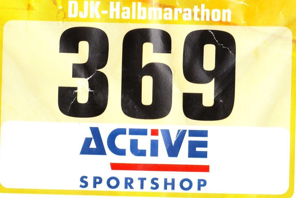 DJK Halbmarathon 2018 - Startnummer