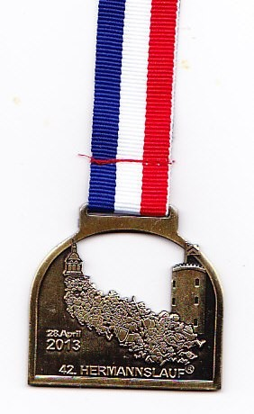 Hermannslauf 2013 - Medaille (front)