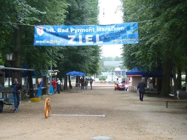Bad Pyrmont Marathon 2017 - Finish