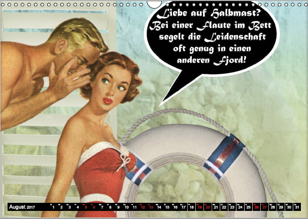 Pin-up Zitate - Leidenschaft - August 2017