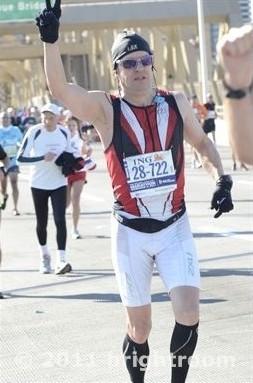 """""""Und ewig grüßt das Murmeltier!"""" Daniel Sean Kaiser - New York City Marathon 2011"""